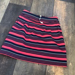 NWT $70 Banana Republic Stripe Pencil Skirt 2